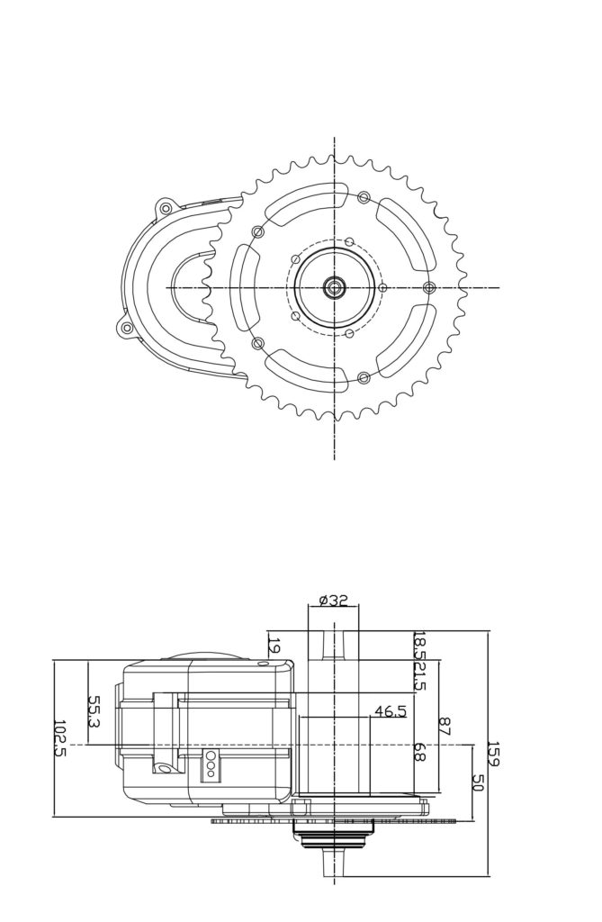 Central-motor-MMS01-drawings